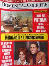Domenica Del Corriere n°45 1972 Sylvie Vartan Franco Franchi e Ingrassia [D24]