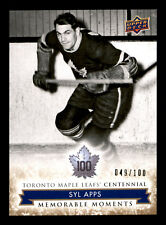 SYL APPS 2017  MAPLE LEAFS CENTENNIAL NO 170 49/100 12838