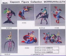 NEW Capcom Figure Collection Morrigan and Lilith DARKSTALKERS COMPLETE 6 pc set