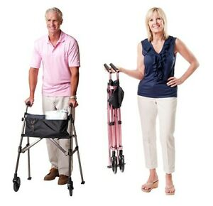 EZ Fold & Go Walker | Travel Walker | Lightweight Walker | Compact