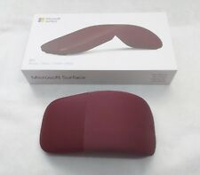 Microsoft-Surface-Arc-Mouse-BlueTrack-Touch-Mouse- Burgundy Model # 1741  SF1