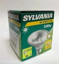 Sylvania Lampe Halogène Hi-Spot95 240V 75W/100W E27 Blanc Chaud Intensité