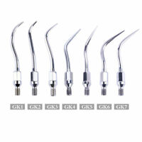 Dental Ultrasonic Scaler Tips GK1 2 3 4 5 6 7 F KAVO Scaler Scaling Handpiece