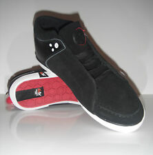 New GBX Busconi  Black Suede Leather Sneaker Boot sz 9.5 $100