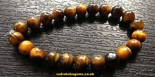 TIGER EYE BRACELET HINDU JAPA YOGA MEDITATION BUDDHISM FOR CONFIDENCE WRIST BAND