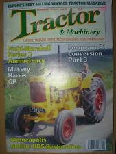 TRACTOR & MACHINERY MAGAZINE OCTOBER 1997 MINNEAPOLIS MOLINE
