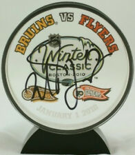 Milan Lucic Bruins Signed Winter Classic Acrylic Puck