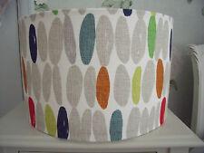 Handmade Lampshade Laura Ashley Wallace multi fabric 35cm drum