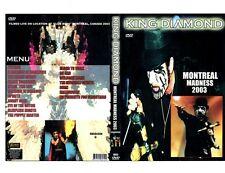 KING DIAMOND-Montreal Madness-DVD/Rare