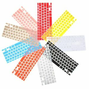 """13"""" 15"""" 17"""" Keyboard Cover Candy Colors For Apple Macbook Pro Air 13"""" 15"""" 17"""""""