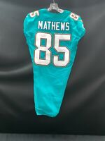 #82 MITCH MATTHEWS MIAMI DOLPHINS GAME USED/TEAM ISSUED AUTHENTIC NIKE JERSEY