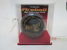 Yomega Fireball Yoyo  Black&Gold Orig Package 1995 Fall River MA
