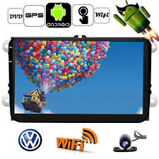 "For VW Jetta Passat 9"" 2Din Android 4.4 Car NO DVD Player GPS WIFI Radio+Camera"
