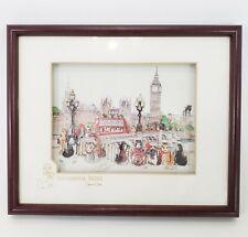 Cat 3D Decoupage Art Westminster Bridge Diane Elson Framed John Ellam Studios
