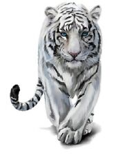 Tiger Iron-On Transfer (Clothing Decal For T Shirts, etc) 25 cm x 16 cm Washable
