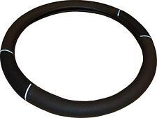 Universal Car / Van Black Steering Wheel Cover Glove Soft Grip