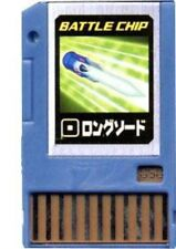 Capcom Mega Man Japanese PET Longsword Battle Chip #050