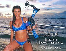 THE 2018 BIKINI BOWFISHING CALENDAR HUNTING BOWHUNTING FISHING CALENDAR