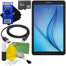 "Samsung Galaxy Tab E 9.6"" 16GB Wi-Fi Tablet + 32GB Memory Card + Cleaning Kit"