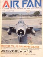 Air Fan French Magazine Mystere IVA Juillet 1980 121017nonrh