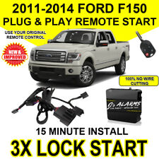 2011- 2014 Ford F-150 Remote Start Plug and Play Easy Install F150 3X Lock FO1