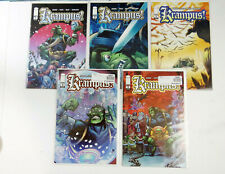 Image Comics Krampus Complete Set issues 1-5 FN-NM Bagged, Boarded and Taped