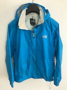 Womens The North Face Jacket / Coat size UK L/XL Hyvent Blue