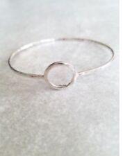 Silpada B3013 Karma Open Circle Bangle Bracelet .925 Sterling Silver