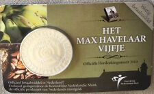 5 euro 2010  150 jaar MAX HAVELAAR COINCARD Nederland