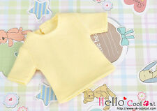 ☆╮Cool Cat╭☆275.【NS-01N】Blythe Pullip Short Sleeve T-Shirt # Pale Yellow