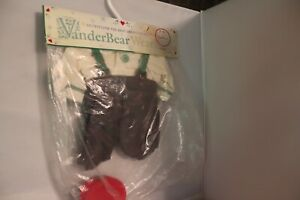 Fluffy VanderBear New England Country Christmas OUTFIT ONLY Green Pants Vintage