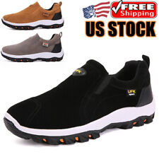 Men's Outdoor Hiking Shoes Breathable Comfort Casual Running Sneakers Large Size