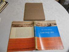 "1962 First Edition "" THE AGADIR, MOROCCO EARTHQUAKE "" February 29, 1960"