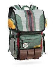 Star Wars Boba Fett Mandalorian Logo Bouty Hunter Laptop Backpack Bag - NEW!