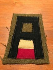 WWI US Army First Army Engineers patch  wool AEF