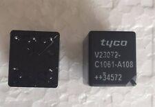 2 Pc V23072 C1061 A108 Mini Tyco Automotive Relay 12V Punto Power Steering Motor