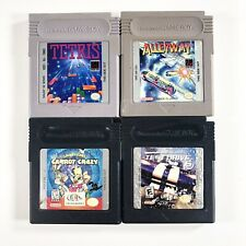 Game Boy Games Tetris Test Drive 6 Alleyway Carrot Crazy Bb