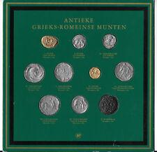 NETHERLANDS, BP COLLECTION ANTIQUE GREEK ROMAN COINS 10 x Tokens B2