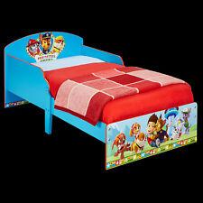 Kinderbett Paw Patrol 140x70cm Jugendbett Bett Kinder Juniorbett Holz blau