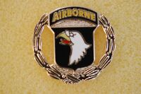 US USA Army 101st Airborne Wreath Military Hat Lapel Pin