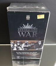 Australians at War Box Set - VHS Video - NEW/Sealed