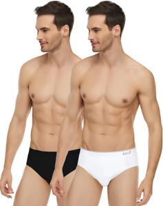 6 er Pack Herren slips Unterhosen Unterwäsche Schlüpfer Baumwolle Schwarz-Weiß