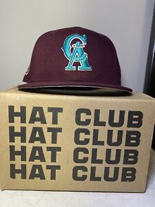 "Hat Club Exclusive California Angels ""Crosscheck Collection"" Size 7 1/8"
