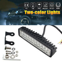 """6"""" 40W LED Arbeitsscheinwerfer Nebelscheinwerfer Fog Driving Lampe Offroad LKW"""