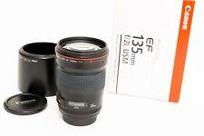 Canon EF 135 mm f/2L USM Lentille