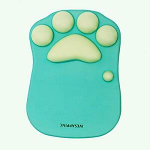 WESAPPINC Cat Paw Mouse Pad with Wrist Support Soft Silicone Wrist Rests Non ...