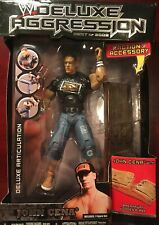 WWE Deluxe Aggression - John Cena Figure - New, Sealed