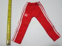 """1/6 Scale Hot Red Sport Sweatpants Pants For 12"""" Action Figure Dolls Toys"""