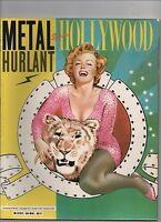 Métal Hurlant n°84 bis, Spécial Hollywood. Loustal, Chaland. TBE