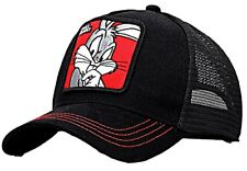 Bugs Bunny Cartoon Character Adjustable Trucker Snapback Cap/Hat